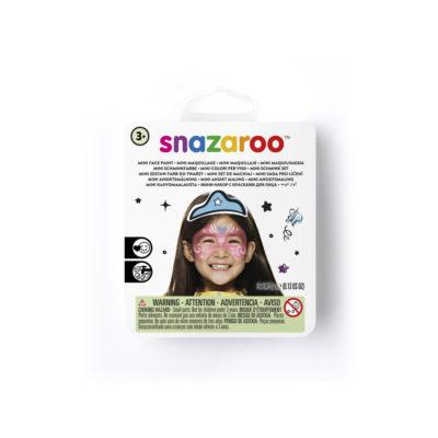 Mini face paint kit for a festive mask