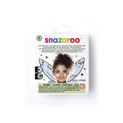 Mini face paint kit for an ice fairy