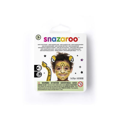 Mini face paint kit for a tiger