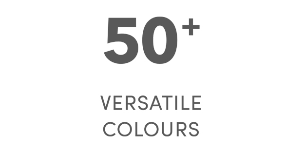 50 plus colours in our face paint range icon