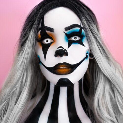 Circus Clown Face Paint Tutorial Pro Face Paint Tutorial Snazaroo