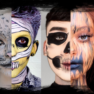 Halloween costume and makeup ideas for adults