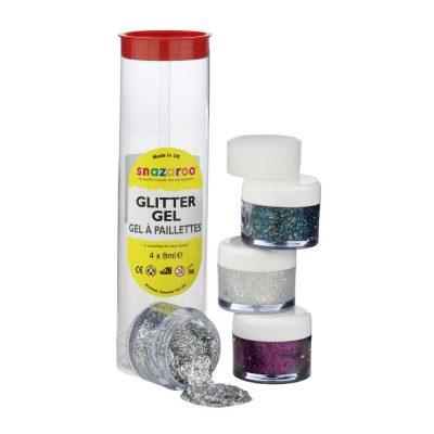 Tube of Glitter Gels