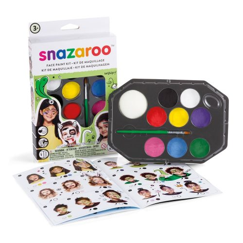Rainbow Face Paint Party Kit