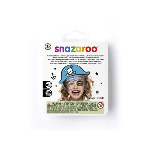 Mini Face Paint Kit for a Blue Pirate