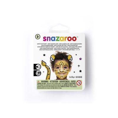 Mini face paint kit for a tiger