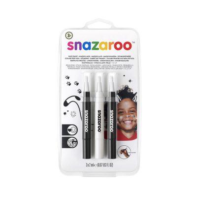 Pack of Monochrome face paint pens