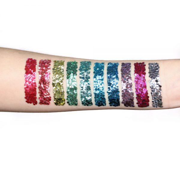 Snazaroo Bio Glitter, Chunky - Ocean Blue, 3g