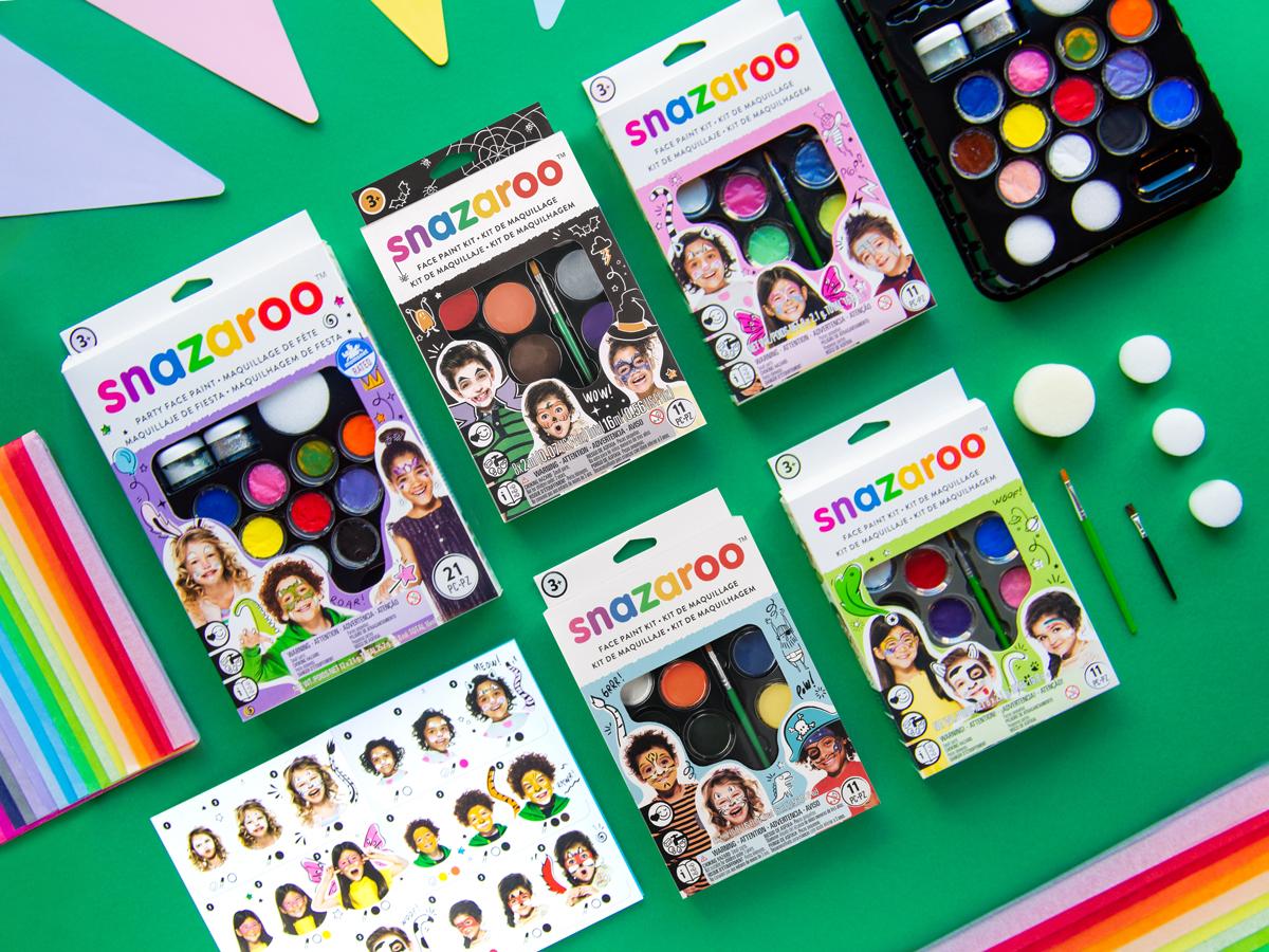 snazaroo party kits