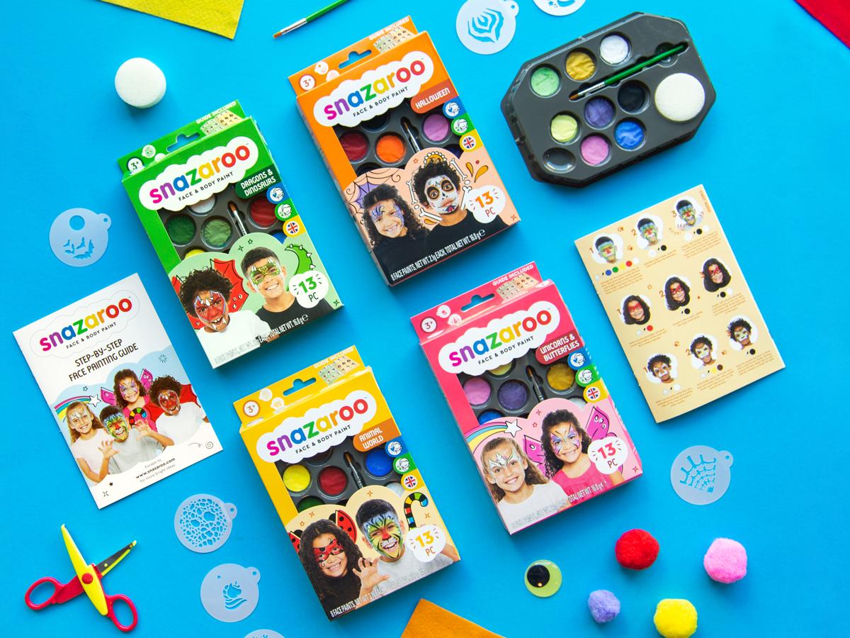 Snazaroo themed kits