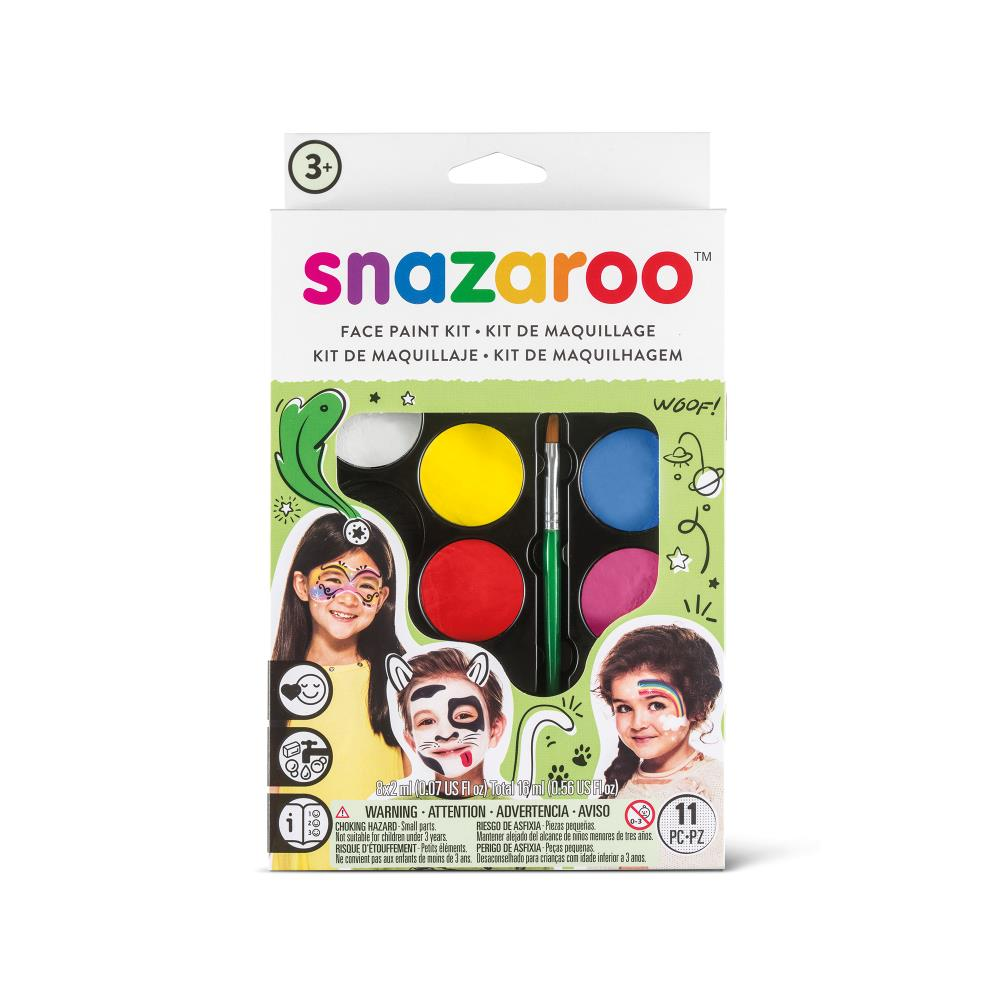Rainbow Face Paint Kit
