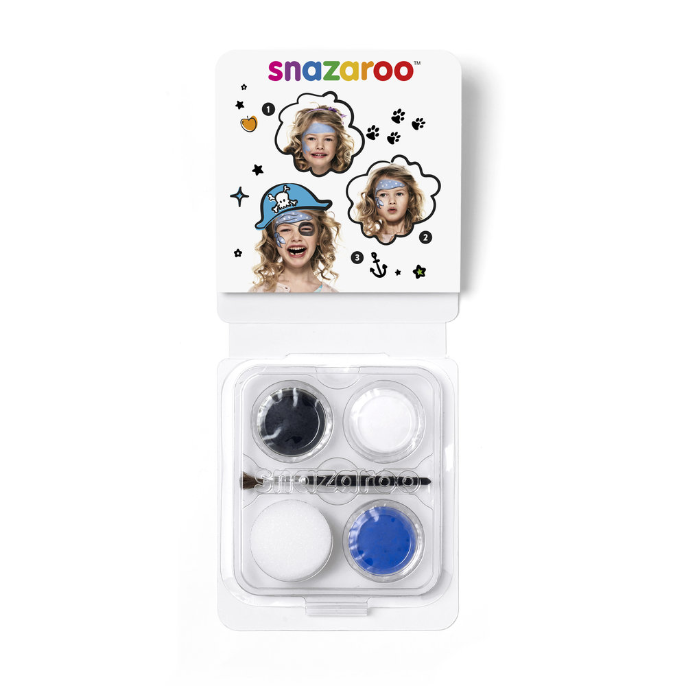 Mini Face Paint Kit Blue Pirate