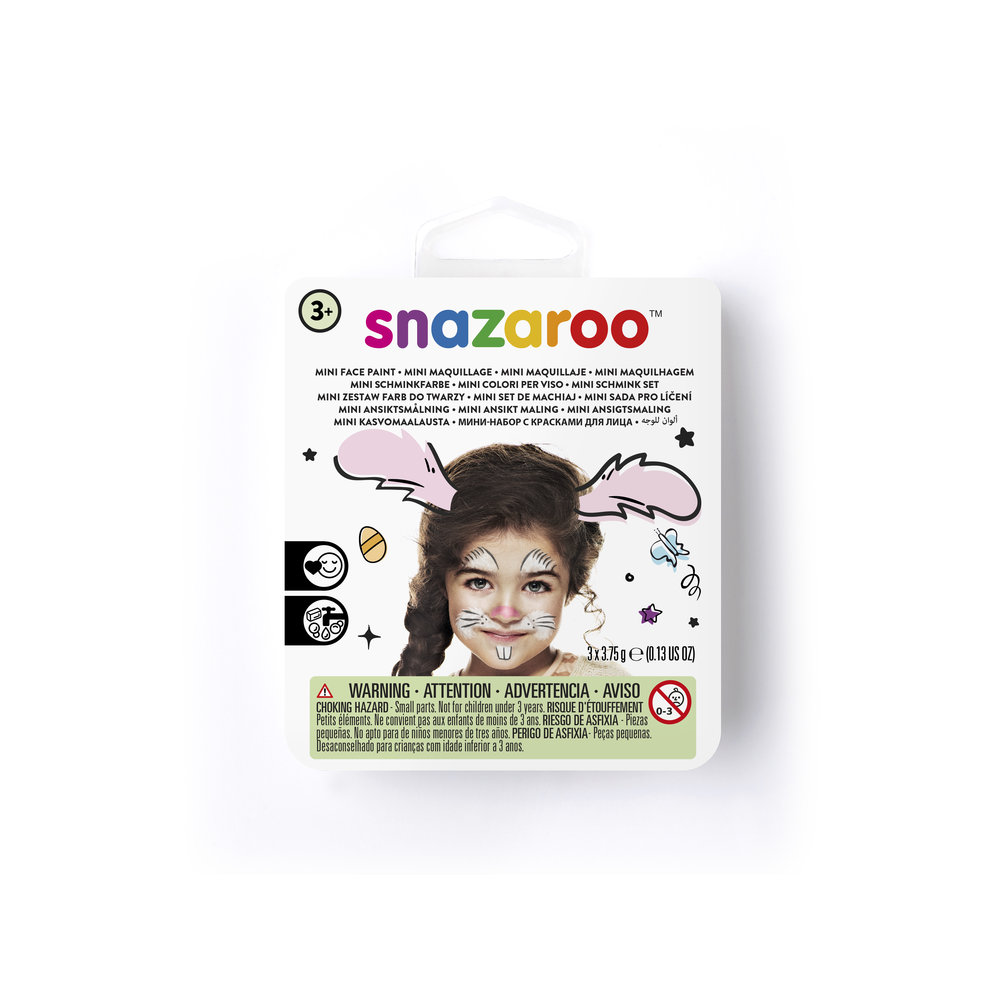 Mini face paint kit bunny