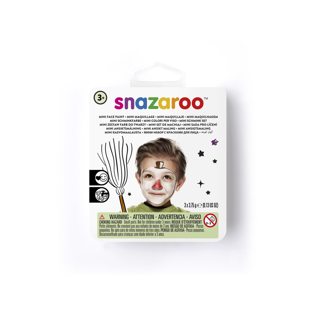 Snowman Mini Face Paint Kit