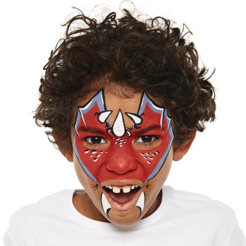 Boy with Dragon face paint design