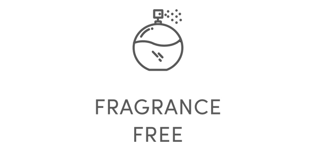 Fragrance free icon