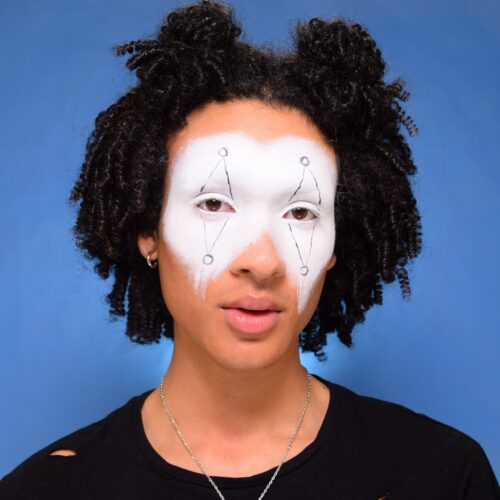 Step 1 Clown Makeup Design