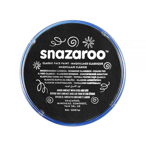 Snazaroo Classic Face Paint - Black, 18ml