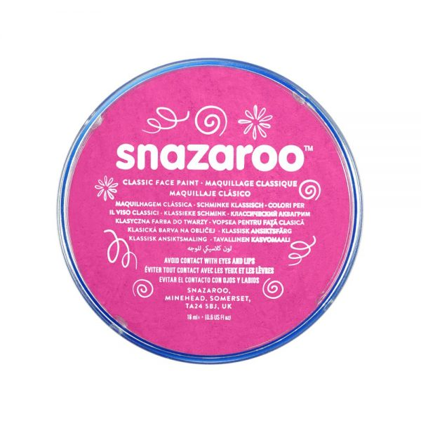 Snazaroo Classic Face Paint - Bright Pink, 18ml