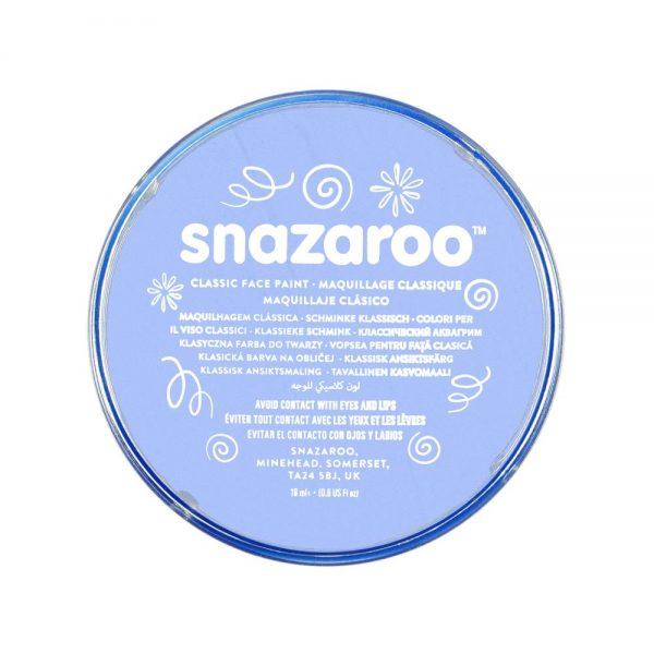 Snazaroo Classic Face Paint - Pale Blue, 18ml