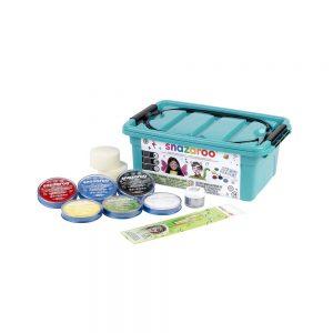 Professional face paint starter kit box