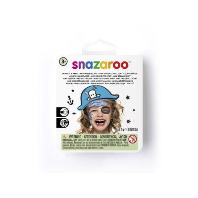Blue Pirate Mini Face Paint Kit