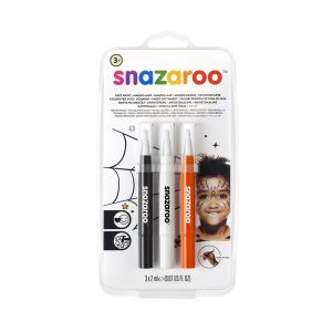 Pack of Halloween face paint pens