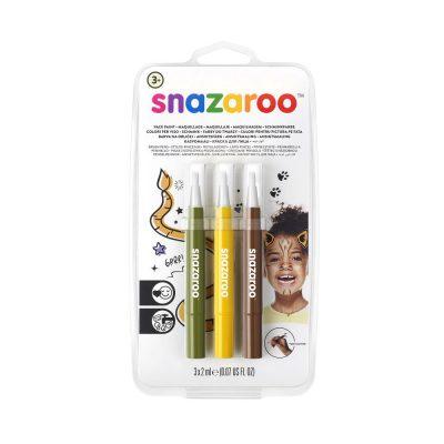 Pack of Jungle face paint pens